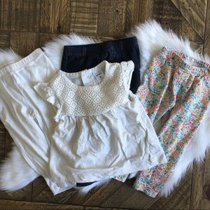 CARTERS'S Leggings and Tee  Bundle